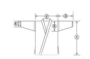 como medir chaqueta karategui