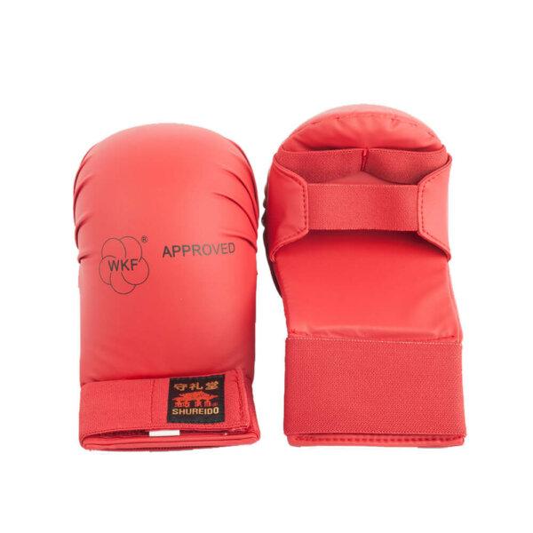 guantillas-rojas-shureido-karate-wkf