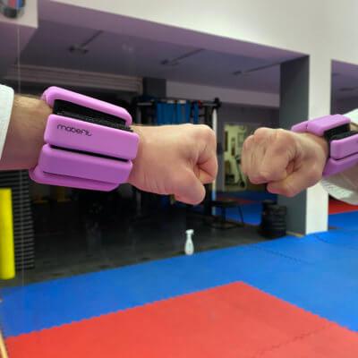 pulseras entrenamiento karate