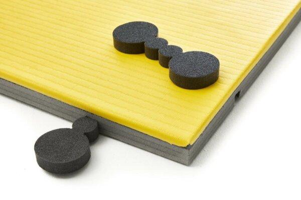 tatami judo entrenamiento amarillo