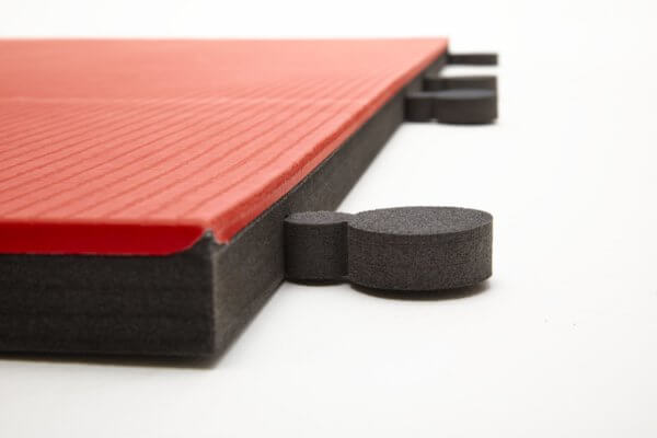 tatami judo competicion rojo negro