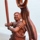 estatua karate