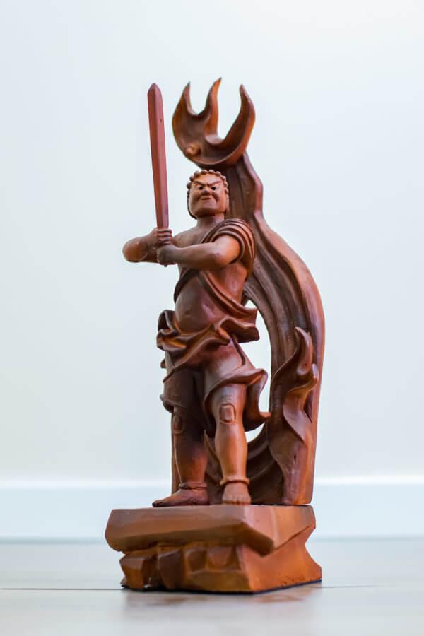 estatua Fudō Myō-ō